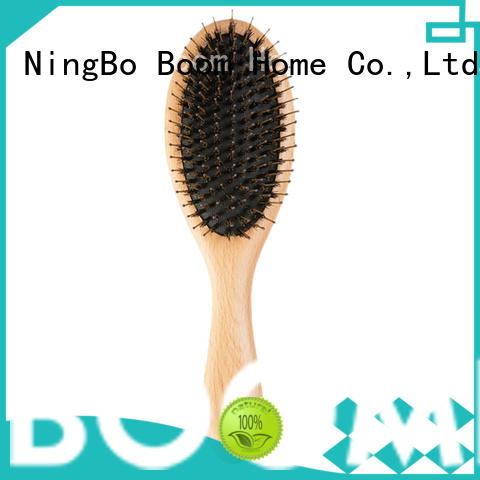 Custom Logo Wooden Bristle Hair Brush For Women & Mens