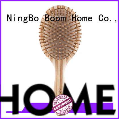 Boom Home mini bamboo comb personalized for thick hair