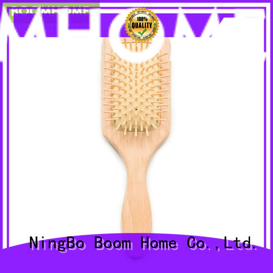 Boom Home brands wooden hair comb design for home