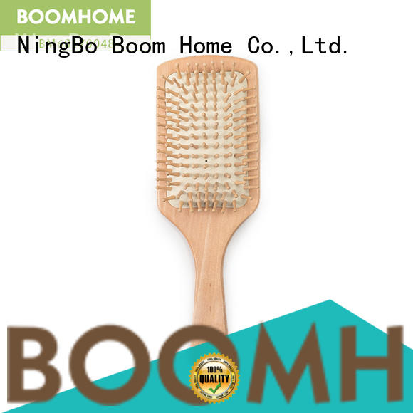 Boom Home wood bamboo hair comb factory for men