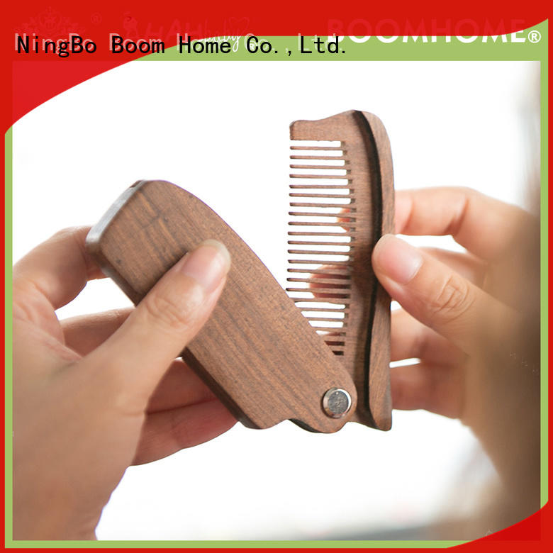 carrying wood hair brush factory for hotel Boom Home
