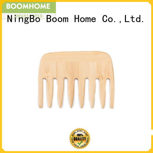 Boom Home Top wooden comb factory for travel