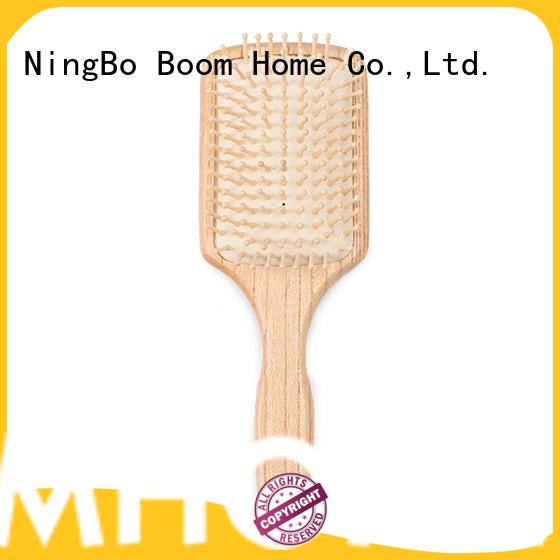 Boom Home girl wooden boar bristle brush supplier for home