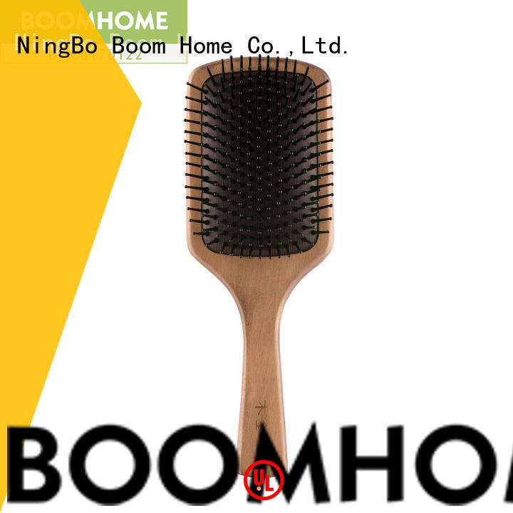Boom Home straightening wooden hair comb inquire now for home