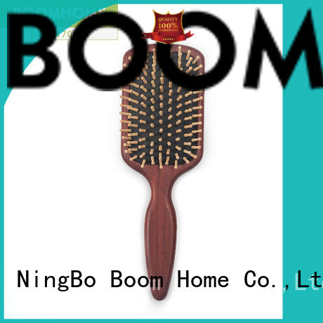 noble wooden paddle hair brush gifts design for travel