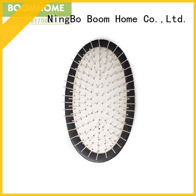 Boom Home anti-static wooden paddle brush gift for shop
