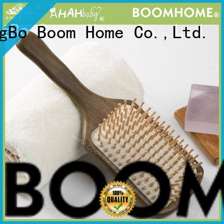 Boom Home boar wooden hair comb factory for travel