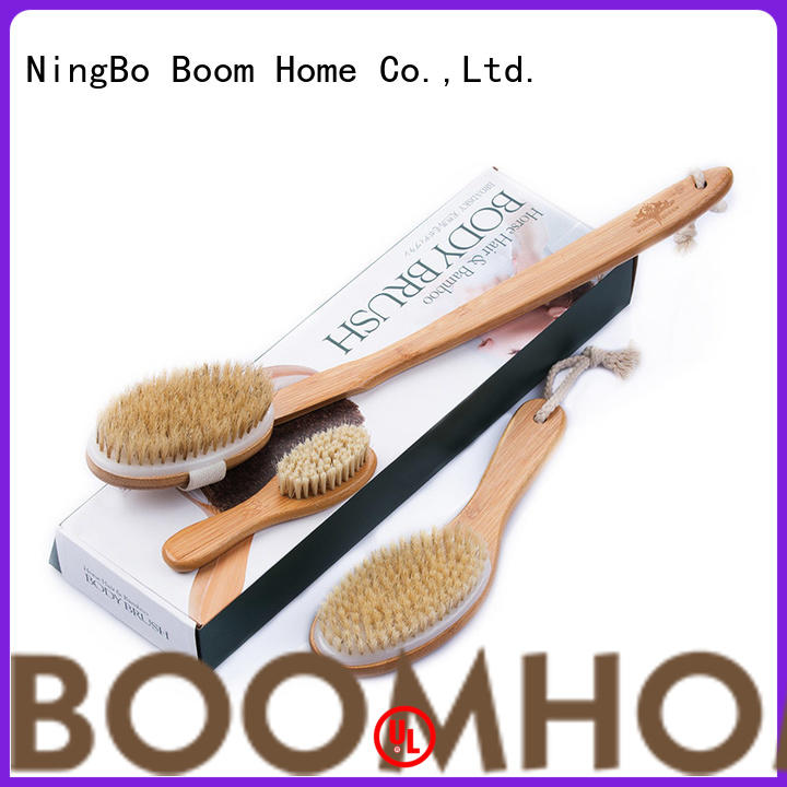 Boom Home skin cactus bristle body brush manufacturer for body
