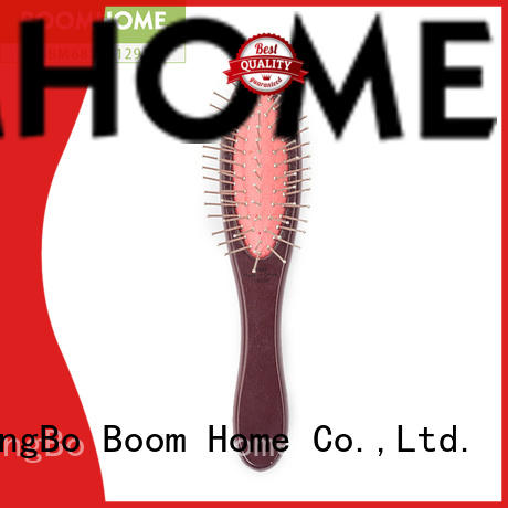 Boom Home girl wooden paddle hair brush inquire now for home
