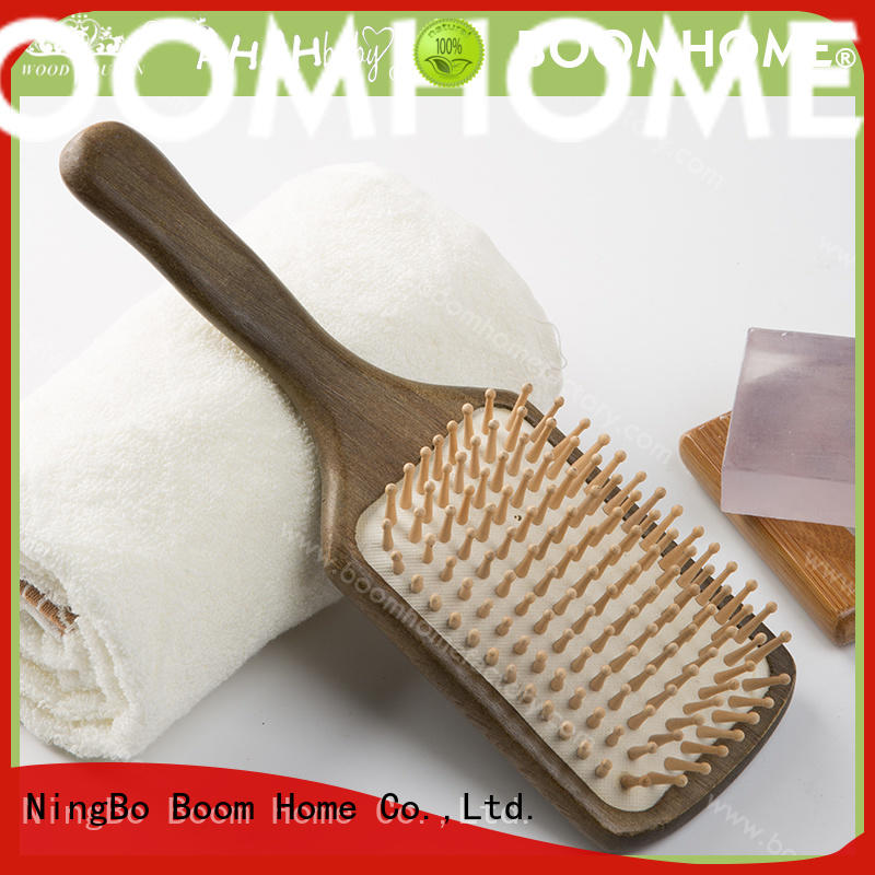 anti-static wooden comb electricity with good price for hotel