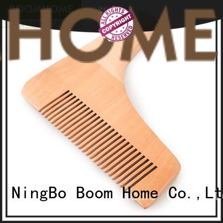 Boom Home large wooden paddle brush factory for hotel