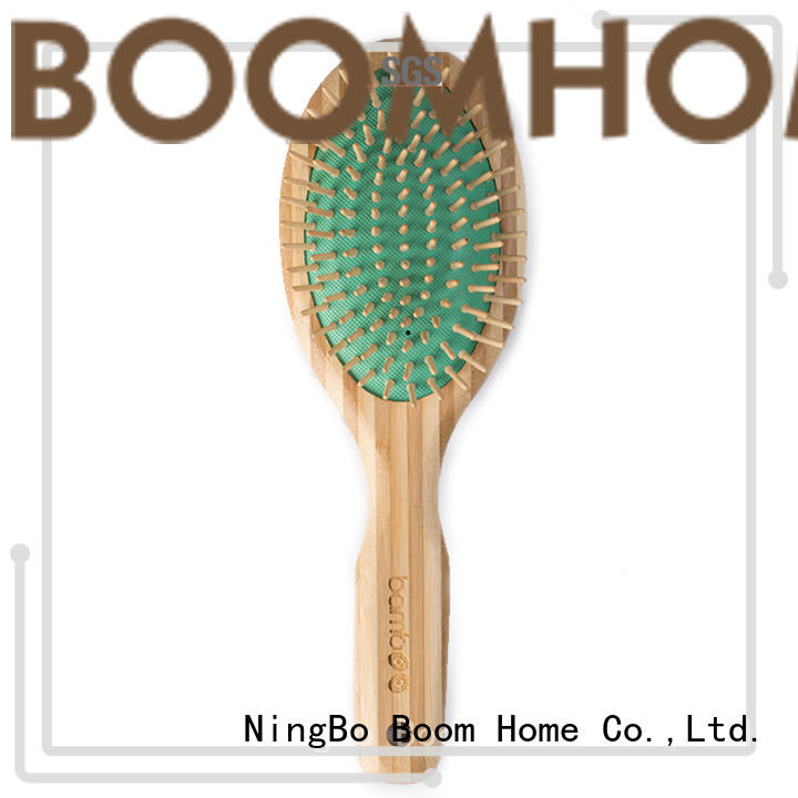 Custom bamboo hair comb brushes factory for women