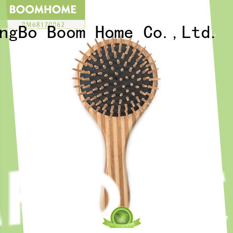 gifts bamboo paddle brush comb for thick hair Boom Home