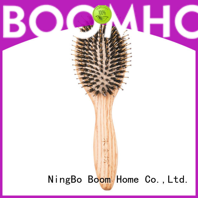 Boom Home large wooden hair brush design for home