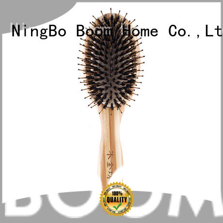 Boom Home wooden bristle hair brush factory for home