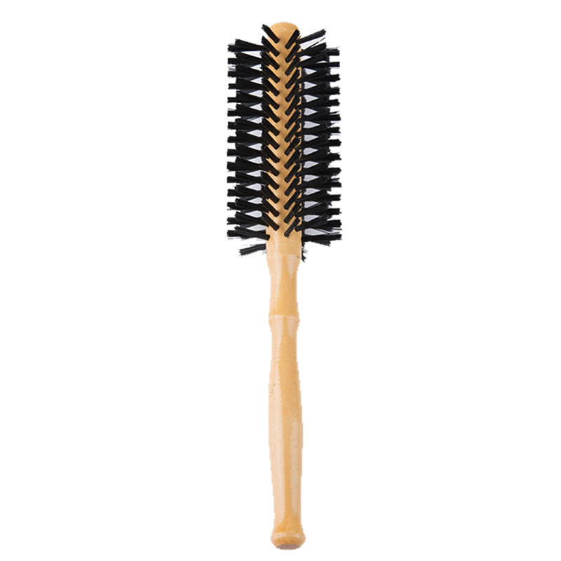 Round Boar Bristle Hair Brush Blow Dryer