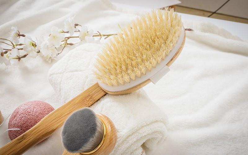 detachable bathtub cleaning brush long handle customized for dry skin