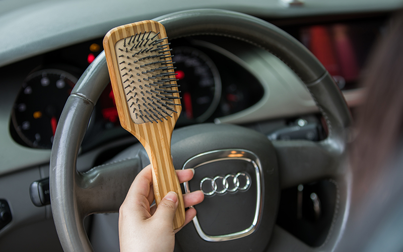 Boom Home oval bamboo paddle brush wholesale for curly hair-4