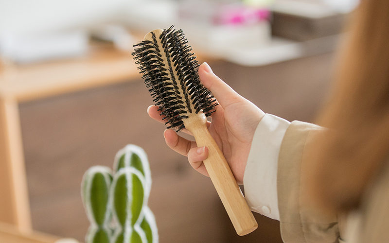 handle round boar brush supplier for cleaning Boom Home-4