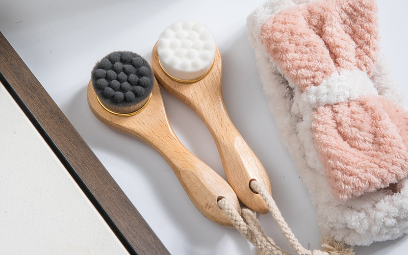 Boom Home exfoliation wooden face brush manufacturers for girls-1