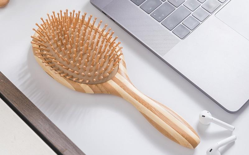 smooth bamboo pin hairbrush wholesale for men Boom Home