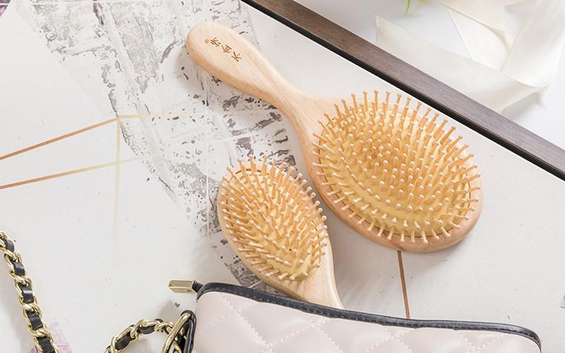 Boom Home anti-static wooden comb with good price for travel