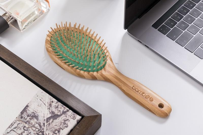Boom Home natural bamboo hair brush factory price for men