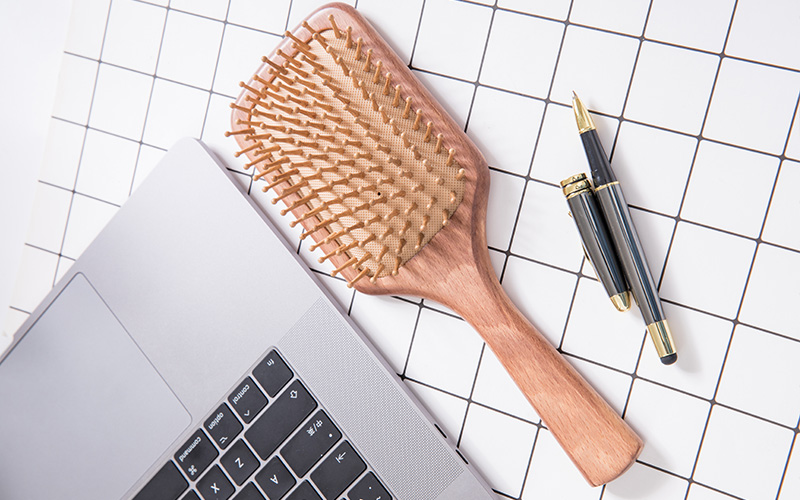 Boom Home beauty wood hair brush supply for shop-1