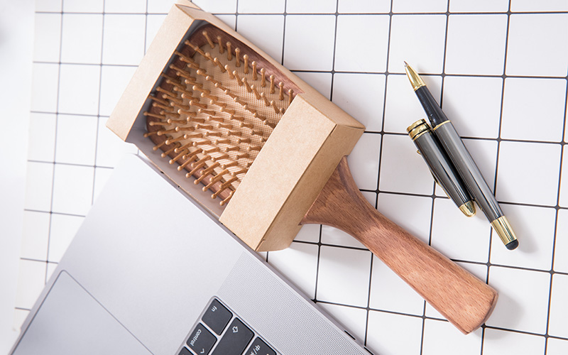 Boom Home beauty wood hair brush supply for shop-3