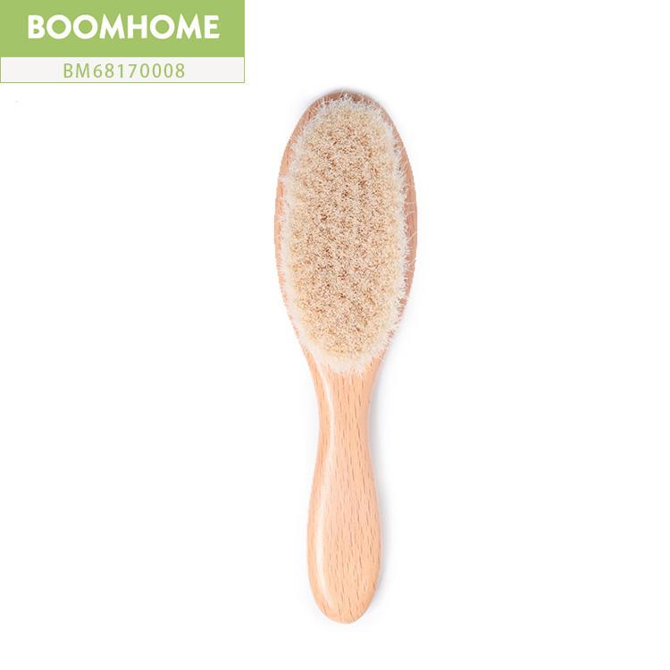 Wooden Baby Hair Brush