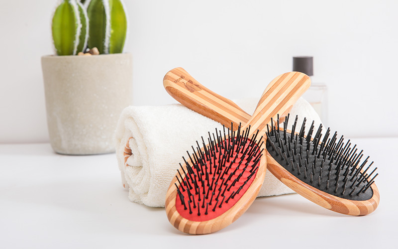 Boom Home hairbrush bamboo comb for business for women-1