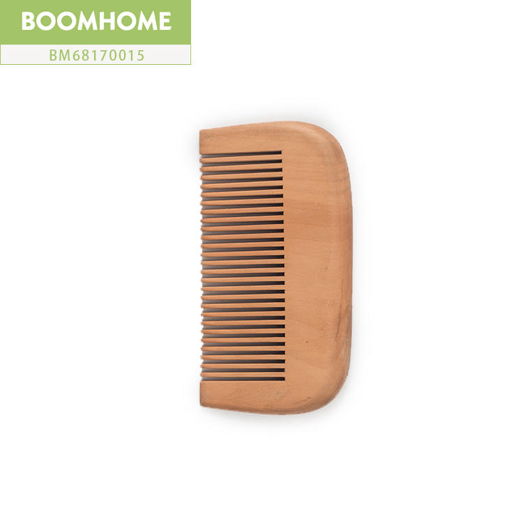 Wooden Comb Brush Static Comb Straightener Pocket Scalp Massage For Cute Gift
