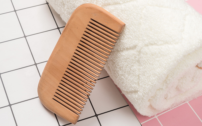 Boom Home grooming wooden comb supply for home-2