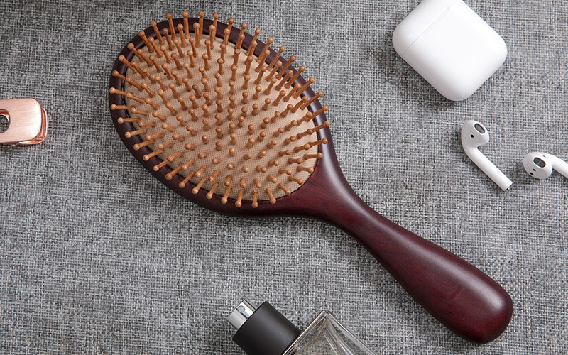 Wholesale wooden paddle brush shape suppliers for shop-1