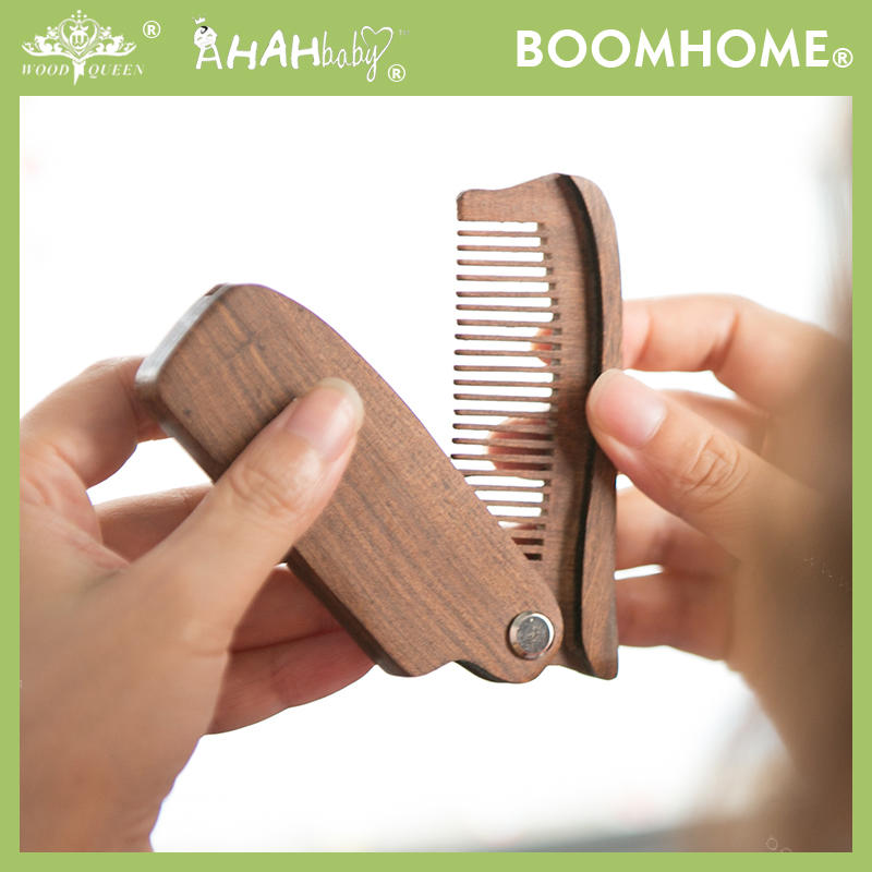 Men Facial Grooming Beard Straightening Comb For Private Label