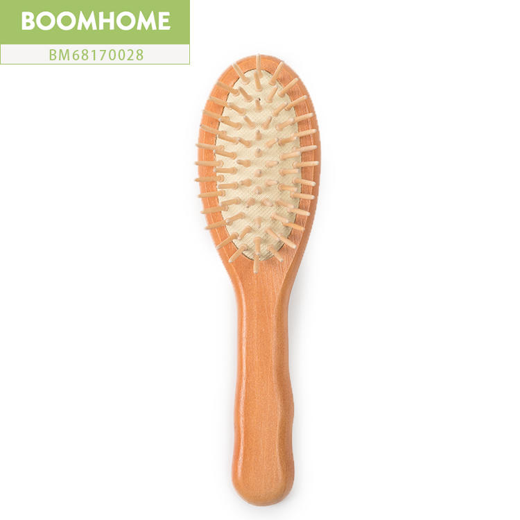 Small Easy Carry Wooden Brush For Hair Growth