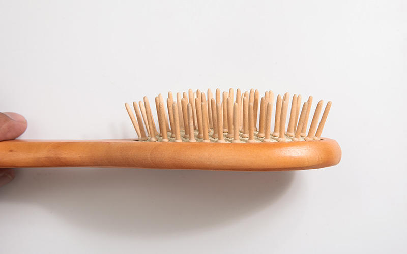 wooden handle hair brush pins for hotel Boom Home