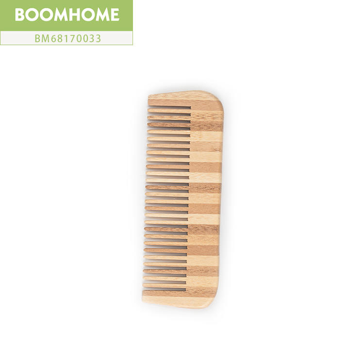 Pocket Scalp Massage Natural Bamboo Comb