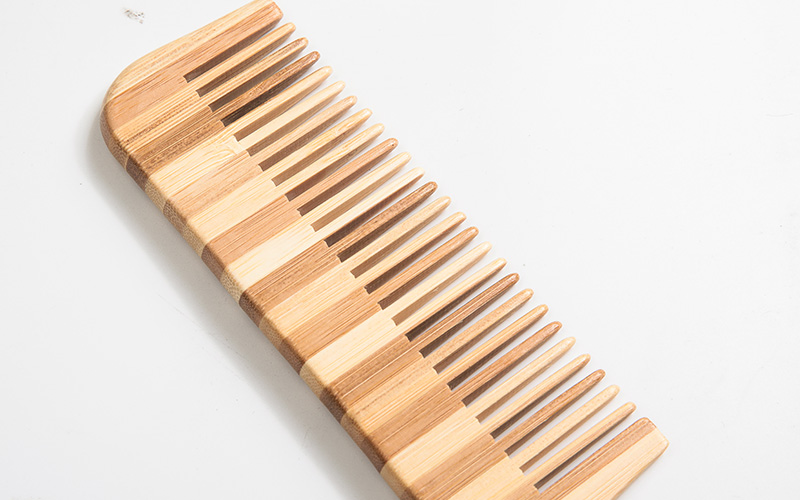 Boom Home cushion bamboo comb for business for curly hair-4