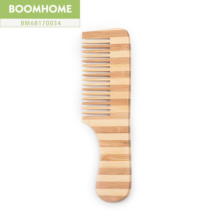 Pocket Scalp Massage Hair Tool Bamboo Pin Hair Brush For Gifts