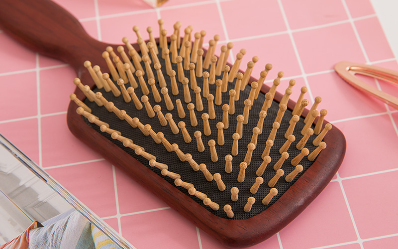 Boom Home portable wooden handle hair brush suppliers for travel-3