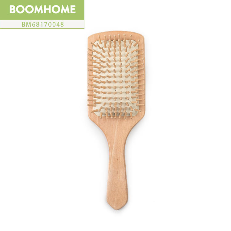 Large Personalized Bamboo Paddle Brush High Quality