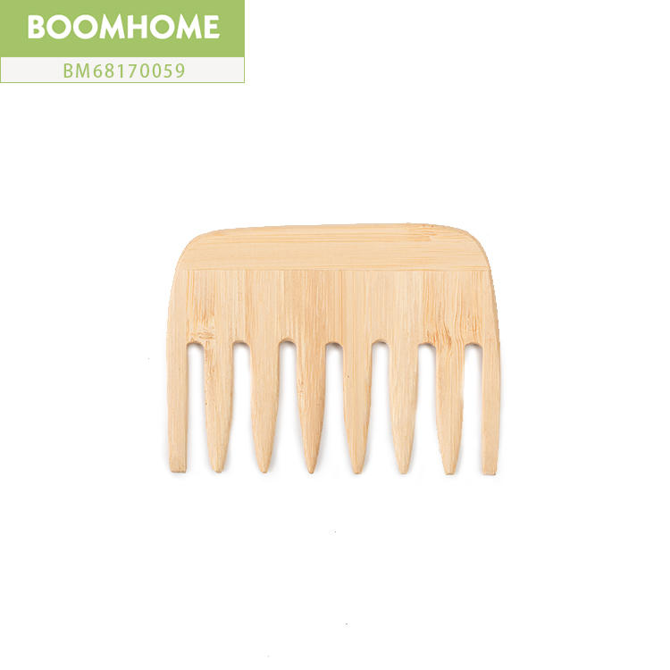 Static Bamboo Wooden Hair Brush And Comb For Cute Gift