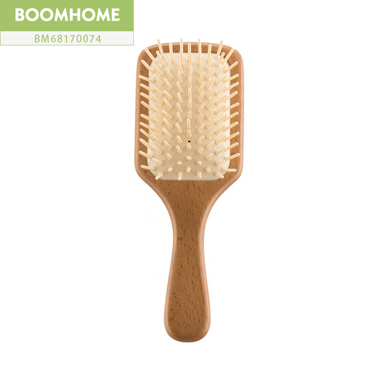 Personalized Wooden Paddle Brush For Men Brushing