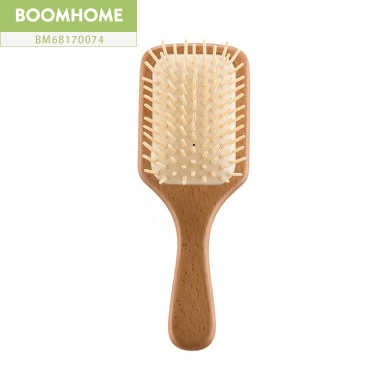 Personalized Wooden Paddle Brush For Men Brushing