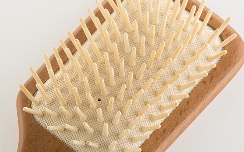 Boom Home facial wooden paddle hair brush with good price for home