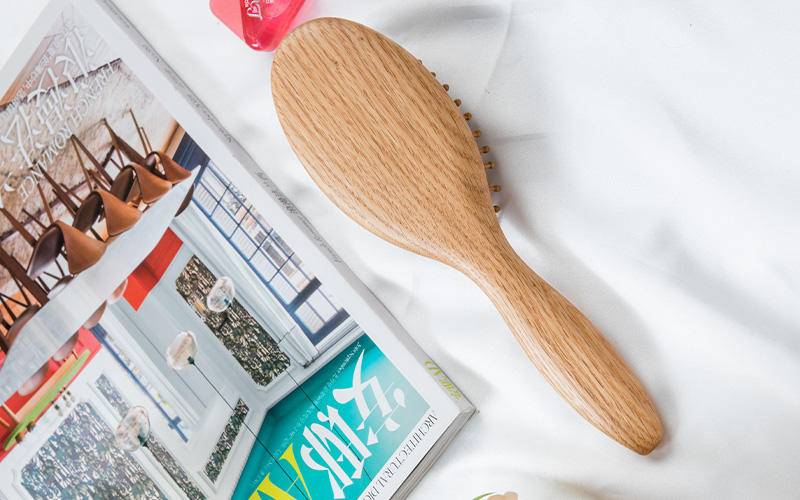 Boom Home shower wooden hair brush for business for shop-2