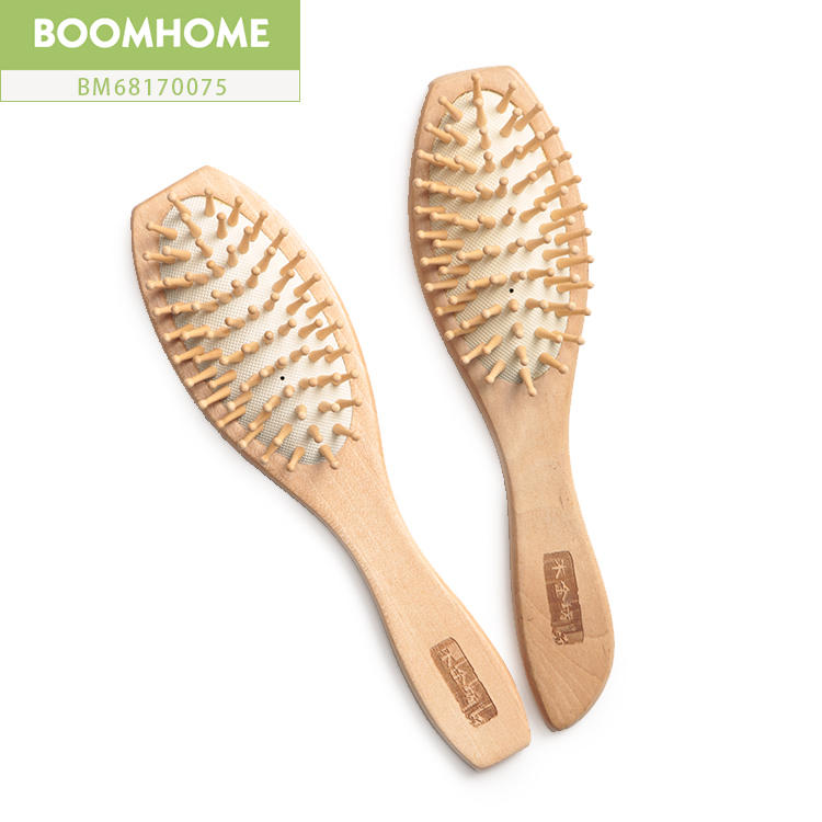 Custom Small Cute Compact Hair Brush For Private Label Brands