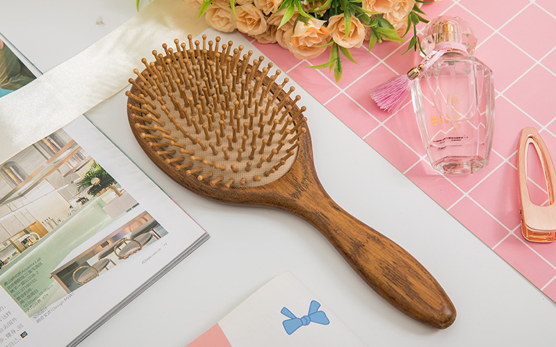 Boom Home small wooden paddle brush supply for home-1