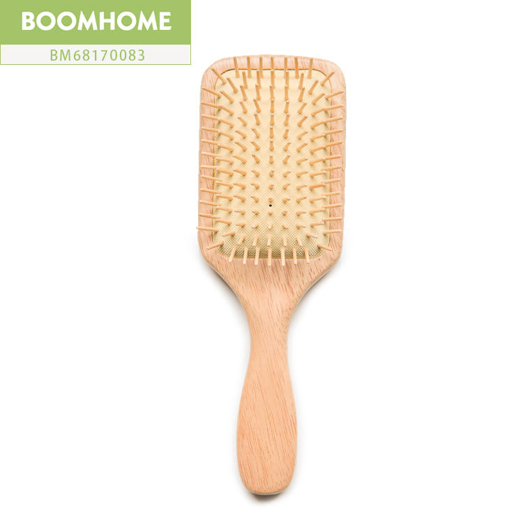New Design Eco-friendly Large Wooden Paddle Hair Brush
